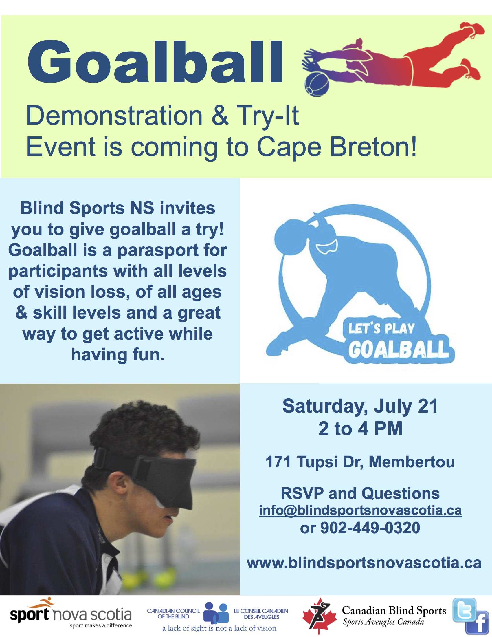 CB GOALBALL DEMO JUL 21 2018