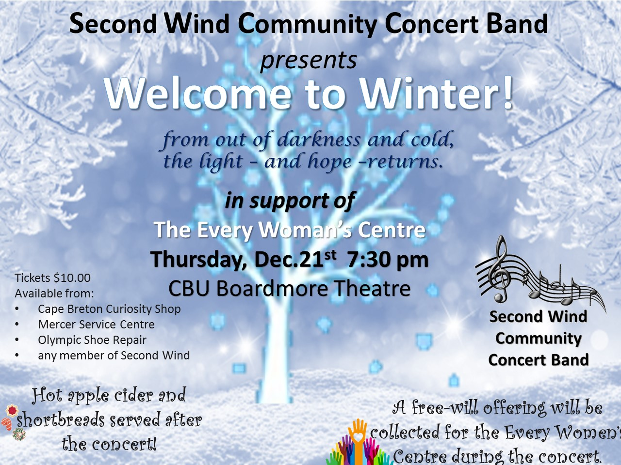 Second Wind Winter Concert Poster copy