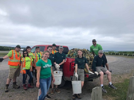 Partnering with other groups in the community CBU and Parks Canada
