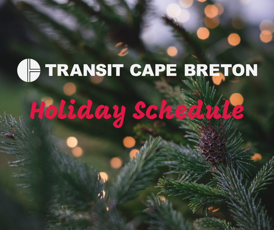 Transit Holiday Schedule