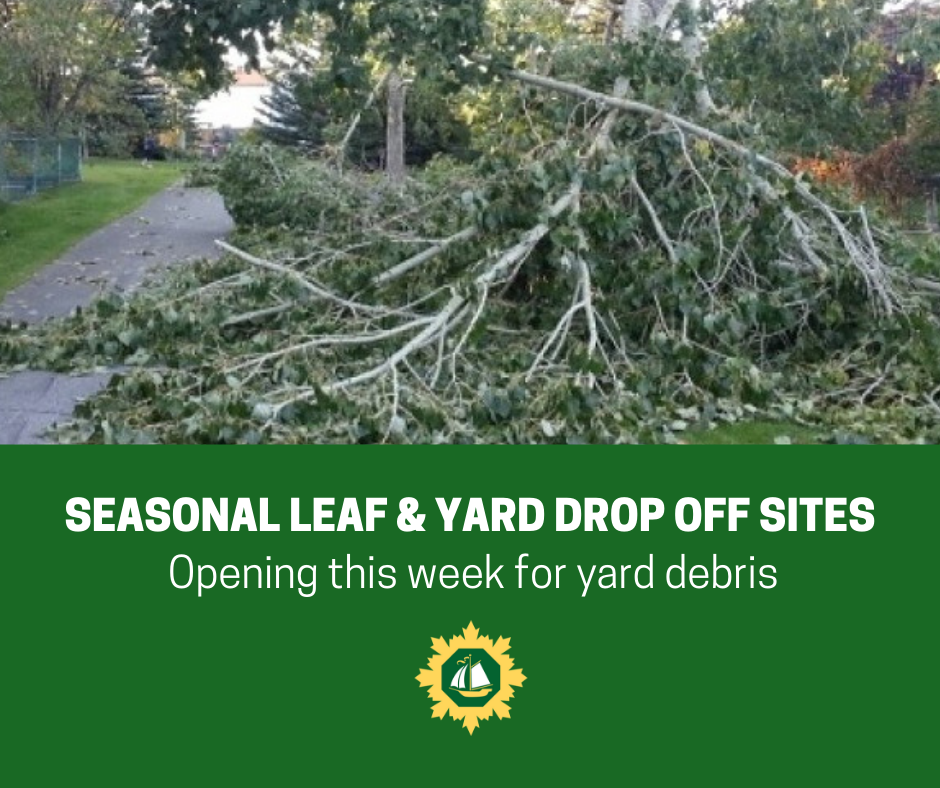 Yard and seasonal drop off sites