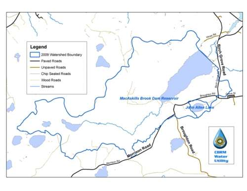 MacAskill Reservoir Watershed